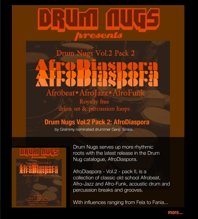 Drum Nugs   Drum Loops and Beats by Genji Siraisi